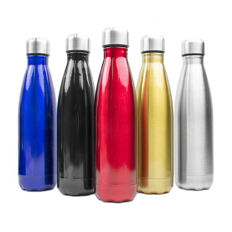 Botellas de Acero y Cristal