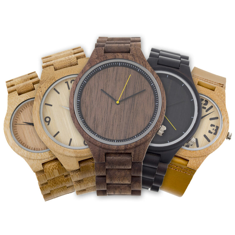 Relojes Madera