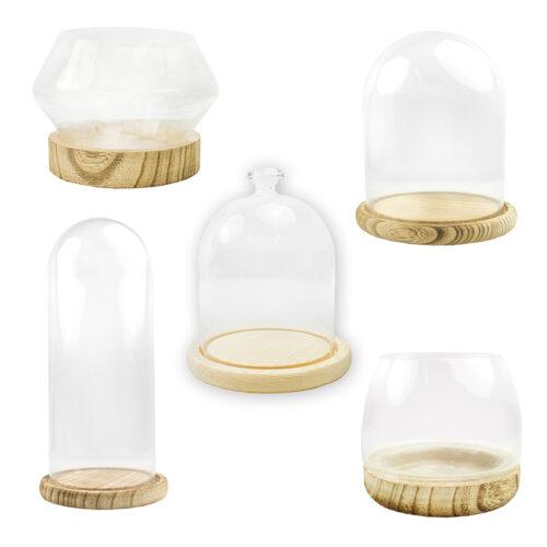 Cúpulas de cristal